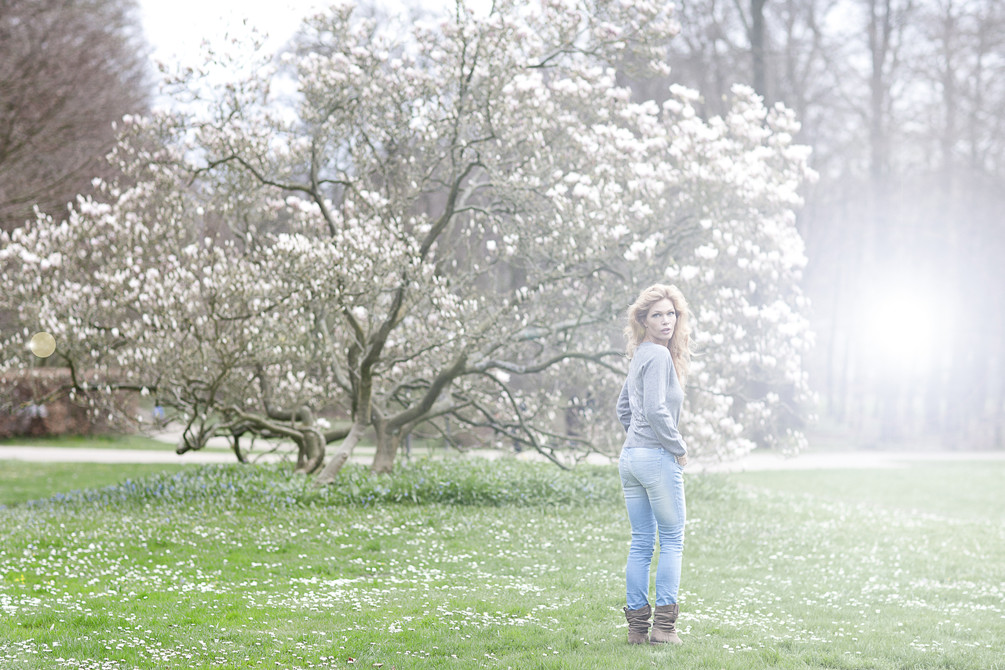 Laura von Lindholm model for Magnolia by Cathrine Oxholm Sonne
